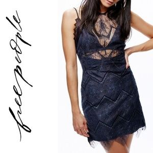 Free People Nothing Like This Lace Minidress Sz 6